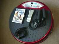 Red VibraPower Disc with DVD and Remote Control £55 ono
