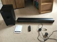 Pioneer SBX-N700 TV Speaker Bar System with Network and Bluetooth Wireless Subwoofer