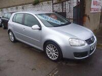 Volkswagen GOLF 2.0 GT TDI 140,5 dr hatchback,6 speed manual,2 previous owners,2 keys,FSH,full MOT,