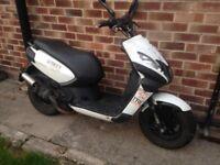 Peugeot kisbee street zone 49cc moped