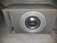 """In Phase PowerDrive12 3000W 12"""" dual 2Ω voice coil subwoofer in box very loud 1000watts RMS"""