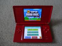 Nintendo DS Lite Games Console - Plus Case & Charger