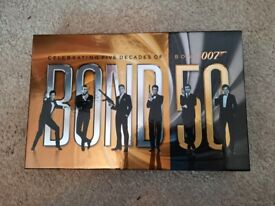 James Bond celebrating 50 years Blu Ray