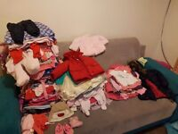 Baby girls clothes 0-1 year all for £30