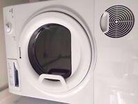 Hotpoint Futura condenser tumble dryer , 7 kg , white colour , for sale .