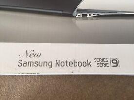 Series 9 Samsung laptop