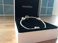Genuine Pandora Bracelet plus charm