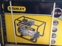 Heavy Duty 6.5HP Stanley E-SG-2000 2KW Generator
