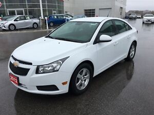 2012 Chevrolet Cruze Dependable, great looking & FULLY CERTIFIED