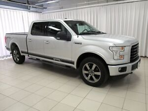 2016 Ford F-150 XLT SPORT 4X4 4DR LEATHER, NAVIGATION AND MORE!