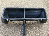 SEALEY Seed and Fertilser Drop Spreader 80kg Tow Behind