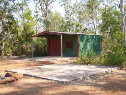 BOAT/ ANYTHING STORAGE SHED 6X6M LOCKUP SHED