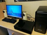 Full Gaming PC System i5, 12GB RAM, 2TB, DDR5 Graphics, Monitor & Speakers