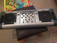 Homemix DJ CD Decks Built in Amps