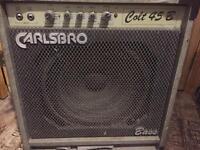 Carlsbro 45W bass amp
