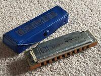 Job lot of vintage Hohner harmonicas