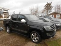 VW Amarok Styling Bars with Spot Lamps and Load Bay Cover