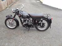 WANTED VINTAGE/CLASSIC MOTORCYCLES