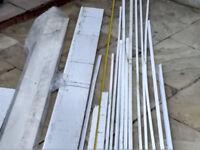 UPVc WINDOW BOARD AND VARIOUS PROFLIES