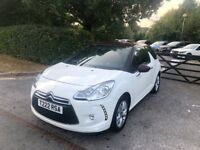 2010 60 CITROEN DS3 1.6 E-HDI DSTYLE 3D 90 BHP DIESEL IMMACULATE CONDITION