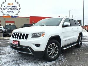 2014 Jeep Grand Cherokee LIMITED**LEATHER**8.4 TOUCHSCREEN**NAVI