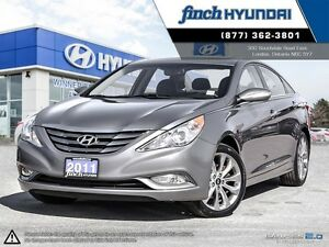 2011 Hyundai Sonata 2.0T Limited Navigation | Sunroof | Back...
