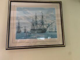 Pair of Limited Edition Prints of Victory & Mary Rose