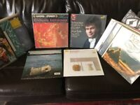 21 classical albums, all in mint condition.