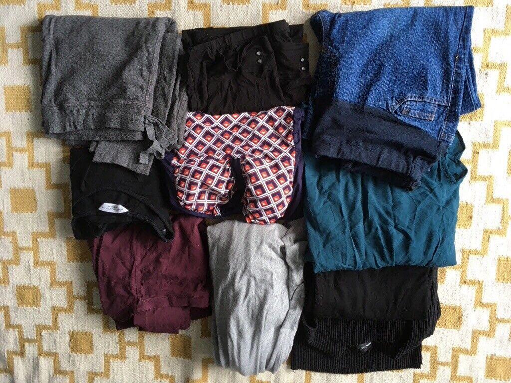 3838ccca8f57e 10 piece maternity clothes bundle size 10/12 | in Castlereagh ...