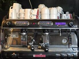 Commercial SANREMO Coffee machine