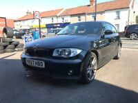 BMW 1 Series 118i 2.0 Petrol Manual 3 Door Hatchback Black Stunning Low Mileage Car