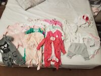Joblot Infant clothes sizes first size up to 1st month