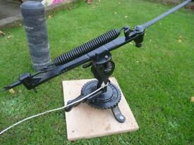 Vintage Eley Clay Pigeon Trap, professionally restored.