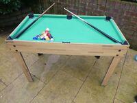 Kids Pool and Football table