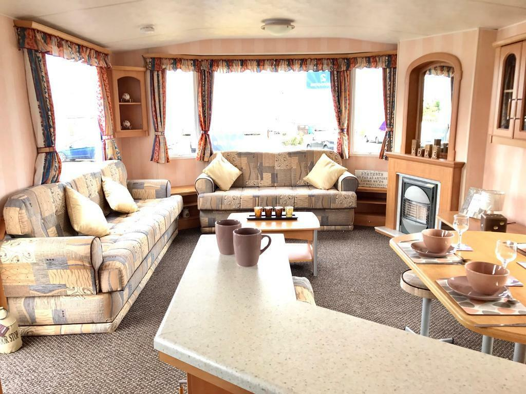 Huge Living Room Lovely 12ft Static Caravan Huge Living And Dining Area Sited