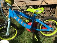 Preowned toy story bike