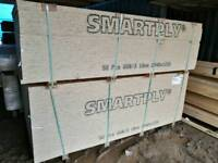 18mm OSB/3 8x4 Sheets (2440mm x 1220mm)
