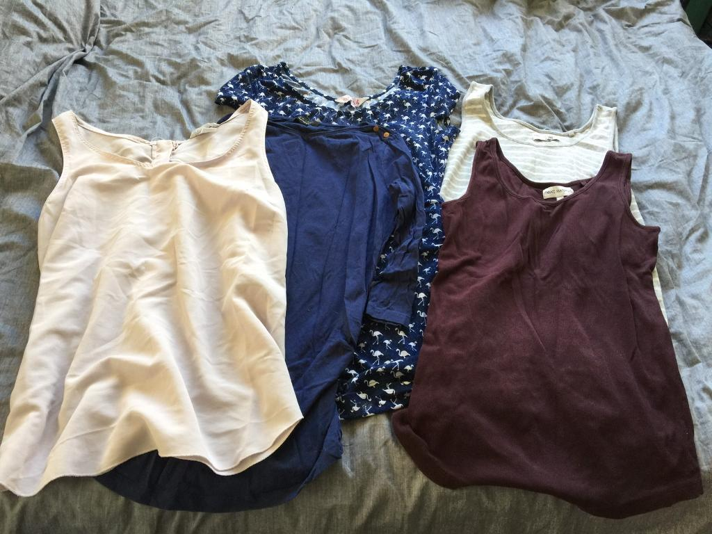 Maternity Clothes Bundle Size 10/12in Denton, ManchesterGumtree - Maternity Clothes Bundle. Includes tops, jeans, leggings, a skirt and 2 dresses. One has never been worn. From next, George, new look and H&M £15ono