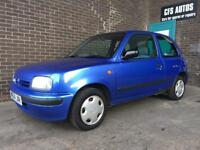 1.0 liter NISSAN MICRA METTALIC BABY BLUE GREAT CAR!!