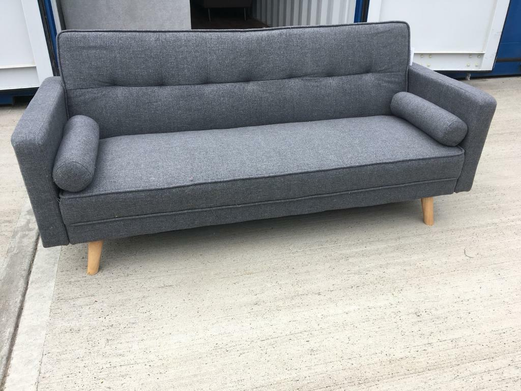 Sandviken 3 Seater Clic Clac Sofa Bed From Wayfair New Ex Display