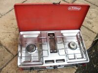Tilley gas camping stove