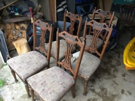 1930's Antique chairs