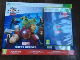 Xbox 360 Disney Infinity Superheroes game