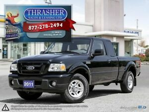 2011 Ford Ranger Sport, 4.0L, Alloys, Only 83,811 KMS!
