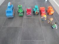 Bob the Builder vehicles & figures bundle