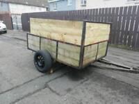 6x4 car trailer.