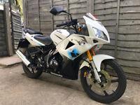 LEXMOTO XTR 125 WHITE 2014