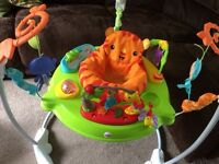 Fisher Price jumperoo *only sat in twice* immaculate