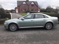Audi A8 tdi Quattro 4.0 ltr v8 - full leather - topspec electric pack including factory sunroof -