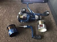 Avanti RDX 2 Freespin Coarse Fishing Reel With 2 Spare Spools And Handle